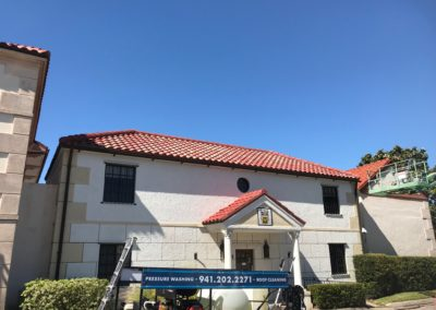 commercial roof cleaning bradenton